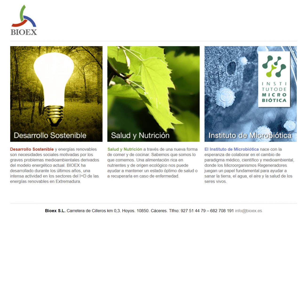 Bionergética de Extremadura (Bioex)