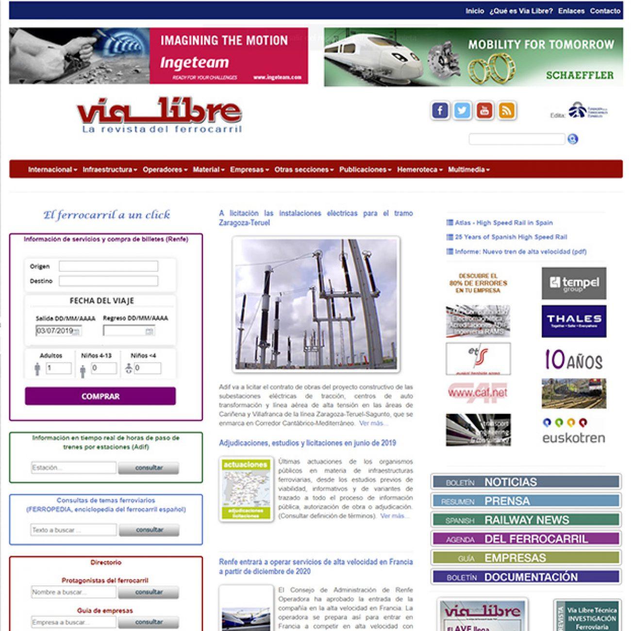 Revista Vía Libre