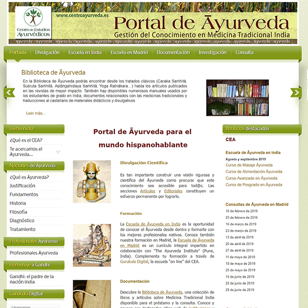Portal de Ayurveda
